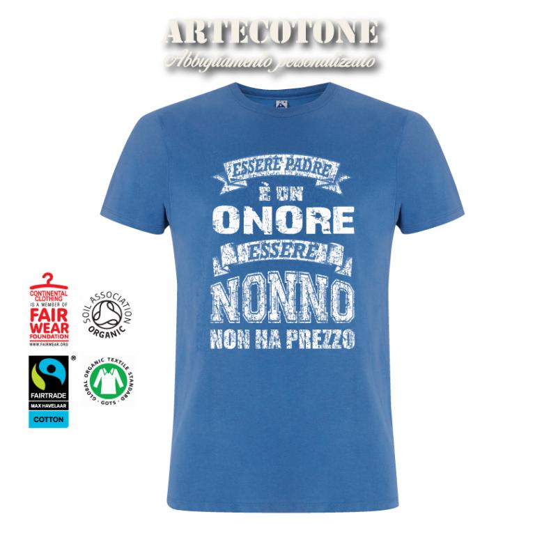 T-shirt Essere Nonno cotone biologico