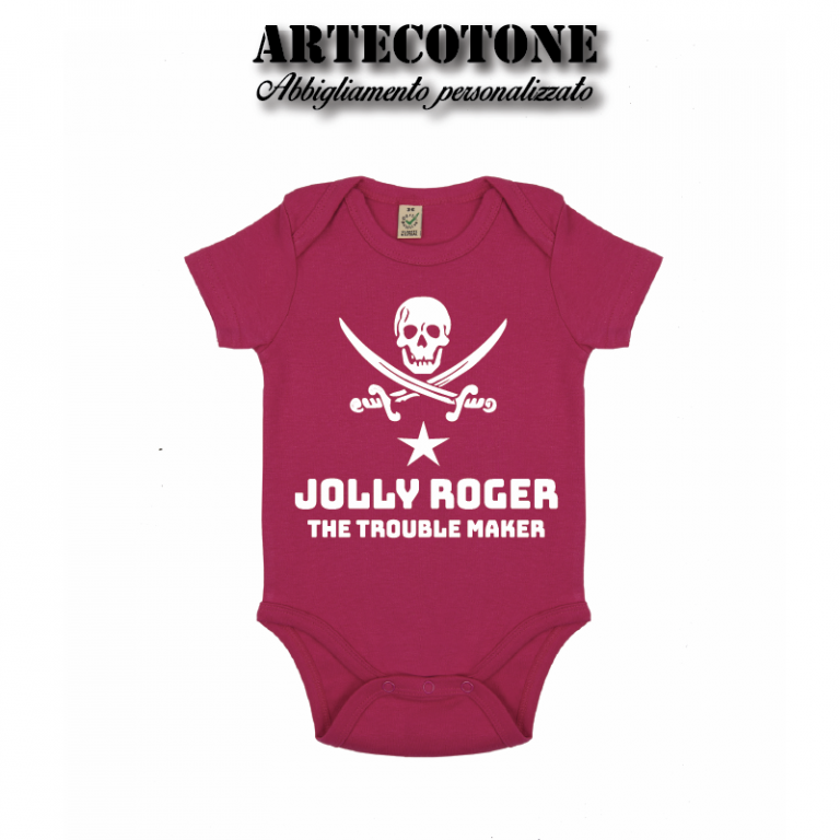 Body Jolly roger organic cotton