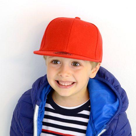 Cappellino Snap Back bimbo personalizzabile
