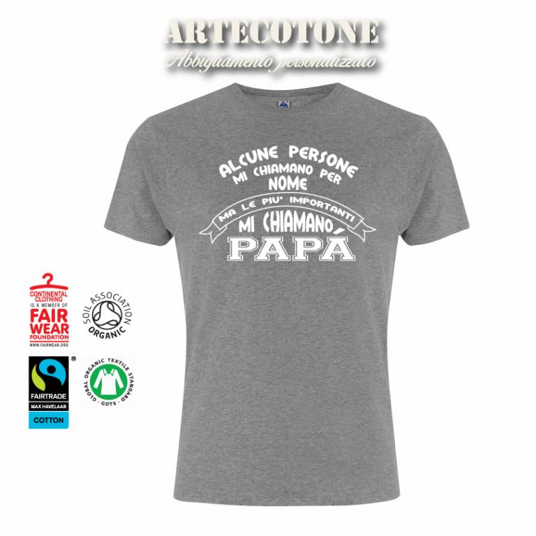 T-shirt Papà in cotone biologico