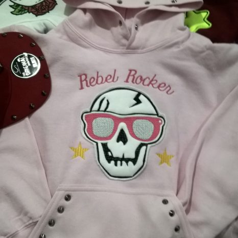 Felpa Rebel Rocker bimbo