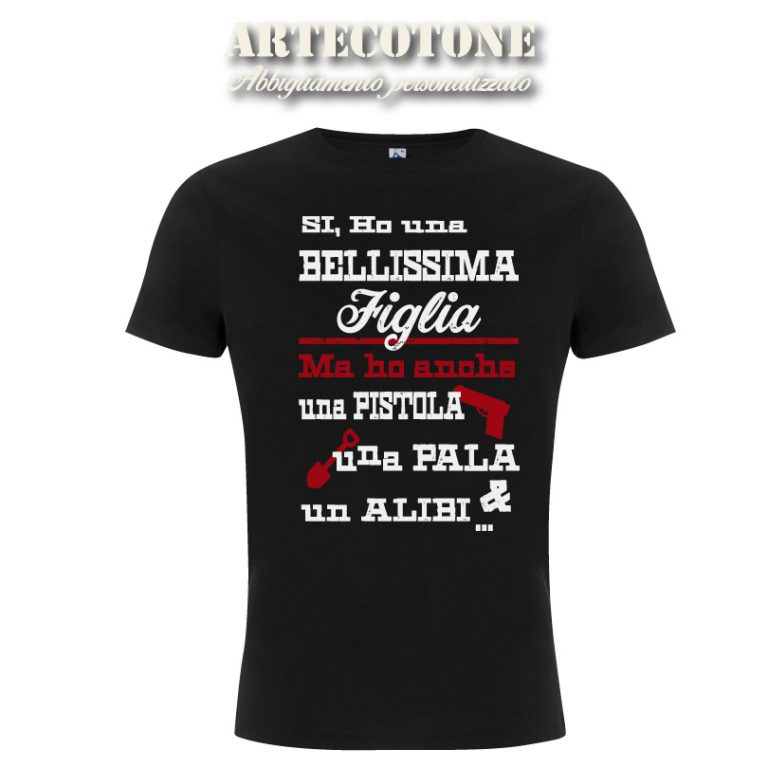 T-shirt Papà Alibi