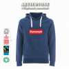 Felpa Unisex Superpapà stile Supreme Design by Artecotone