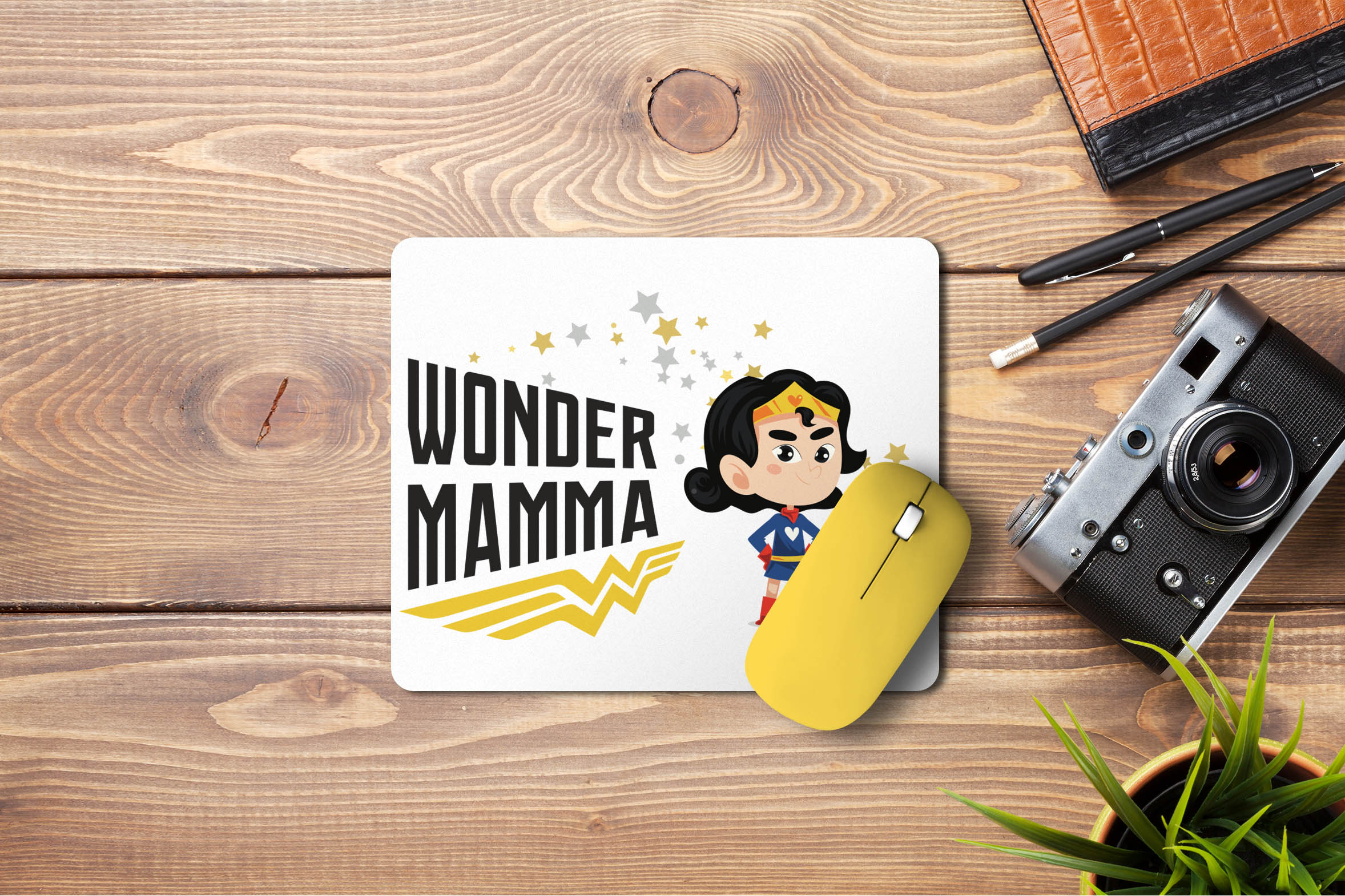 Mouse pad wonder Mamma